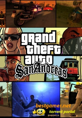 Grand Theft Auto (GTA): San Andreas v2real (2009) PC