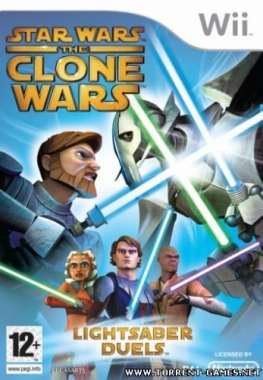 [Wii] Star Wars The Clone Wars: Lightsaber Duels [PAL] [MULTI5] (2008)