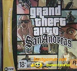 GTA San Andreas оригинальная русская версия PC 2005 чистая версия !!