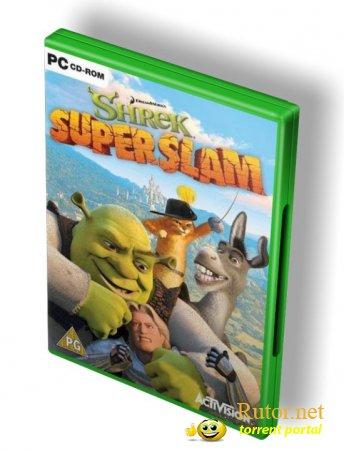 Shrek super slam игра по мотивам популярного мультика.