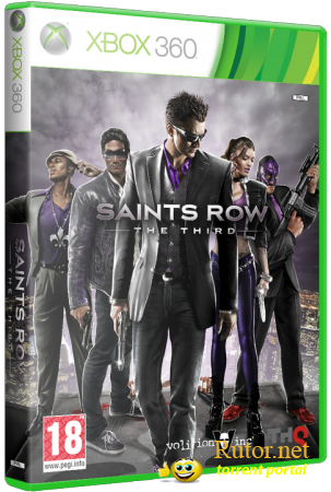 [XBOX360] Saints Row : The Third (2011) [RUS/LT+ 3.0]