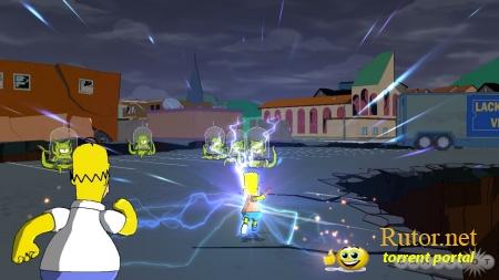 Прохождение Игры Simpsons Game Psp