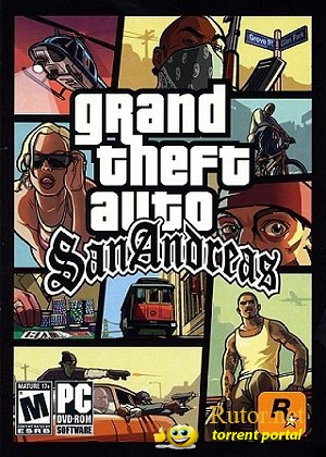 GTA / Grand Thet Auto: San Andreas - Snow Winter (2012) PC