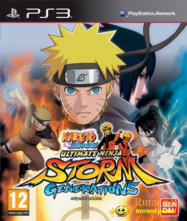 [PS3] Naruto Shippuden Ultimate Ninja Storm Generations [JPN] [3.55]