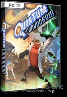 Quantum Conundrum [v 1.0.8623.0 + 2 DLC] (2012) PC | RePack от R.G. Catalyst