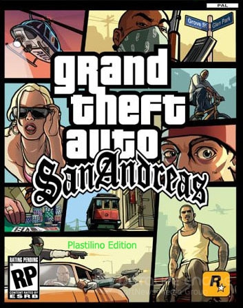 GTA San Andreas - Plastilino Edition (2013/PC/Rus)