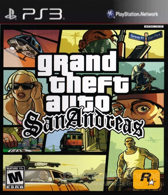 Grand Theft Auto: San Andreas (2012) PS3 | L |