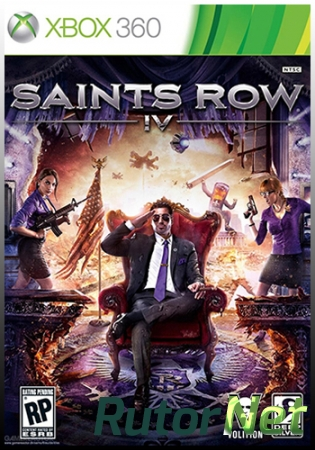 [XBOX 360]Saints Row 4 [Region Free / ENG] (LT+3.0)
