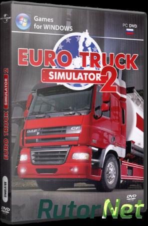 Euro Truck Simulator 2 [v 1.7.1.48352 + 2 DLC] (2013) PC | RePack от z10yded