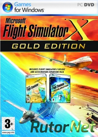 Microsoft Flight Simulator X: Gold Edition (Лицензия) [2007] | PC
