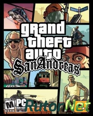 GTA San Andreas / Grand Theft Auto: San andreas [RUS / ENG] (2005) (1.0) |  ...