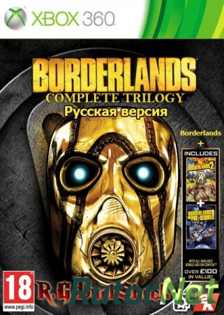 [FULL][DLC] Borderlands Complete Trilogy [RUS/RUSSOUND] (Релиз от R.G.DShock)