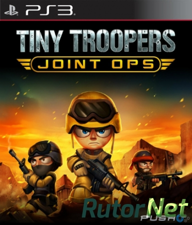 Tiny Troopers Joint Ops (2014) [PS3] [USA] 3.55 [Cobra ODE / E3 ODE PRO ISO]  [Multi]