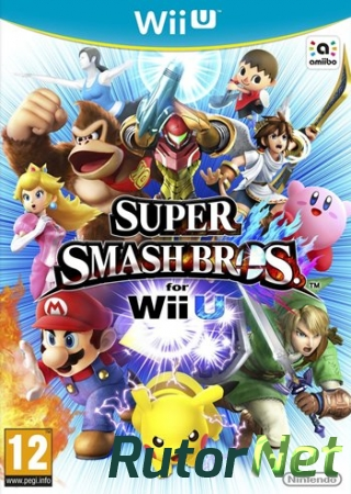 Super Smash Bros. for Wii U (2014) [WiiU] [EUR] 5.3.2 [WUP Installer] [License] [Ru/Multi]
