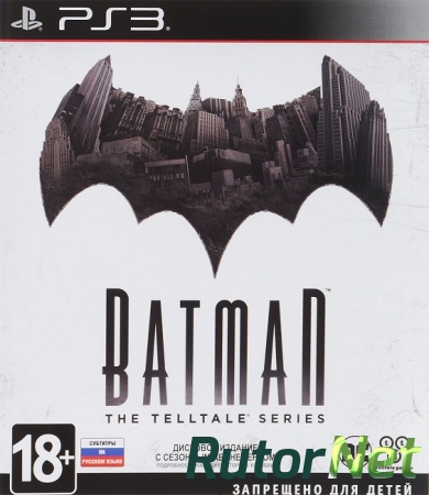 Batman: The Telltale Series. Episodes 1-5 [USA/RUS] [Rip]
