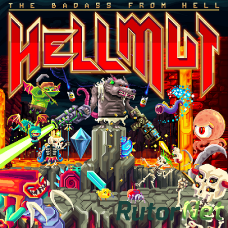 Hellmut: The Badass From Hell [v 1.0.2] (2018) PC | Лицензия