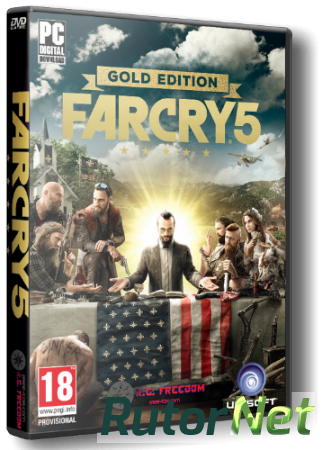 Far Cry 5: Gold Edition [2018, RUS,ENG,MULTi, Repack] от AntDestroyer
