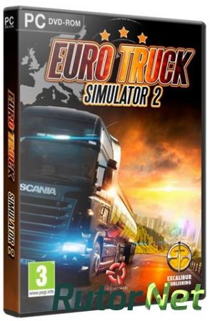 Euro Truck Simulator 2 [v 1.31.2.5s + 57 DLC] (2013) PC | RePack от xatab